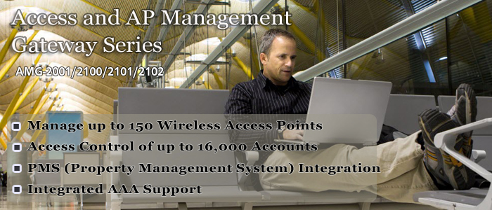 LevelOne Access Control and WLAN Management Solution